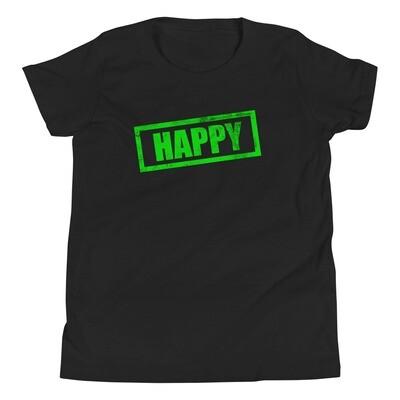 Nuorten t-paita - Happy