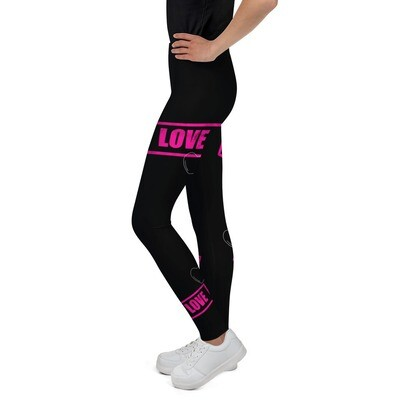 Nuorten leggings - Love
