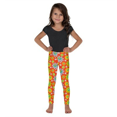 Lasten leggings - Retrokukka