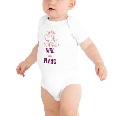 Lasten body - Little girl - big plans