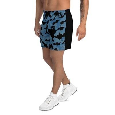 Miesten shortsit - Sininen camouflage