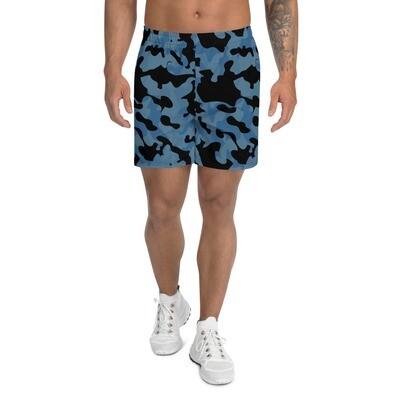 Miesten shortsit - sininen maastokuvio