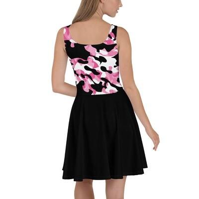 Mekko - Musta / pinkki camouflage