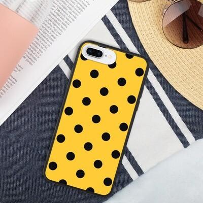 Biohajoava suojakuori iPhone - Keltainen pallo