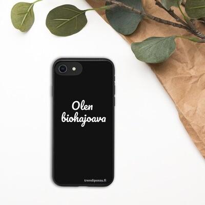 Biohajoava iPhone suojakuori - Biohajoava
