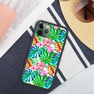 Biohajoava iPhone suojakuori - Viidakko