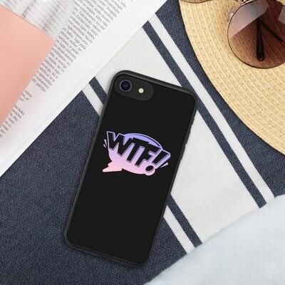Biohajoava iPhone suojakuori - WTF