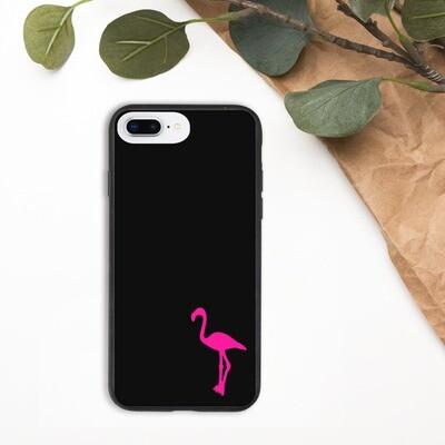 Kierrätettävä iPhone suojakuori - Flamingo