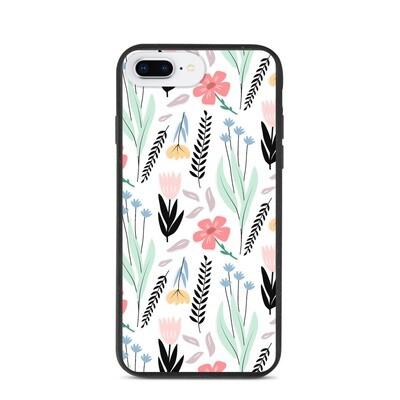 Biohajoava iPhone suojakuori - Kukka