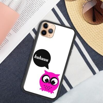 Biohajoava iPhone suojakuori - Pöllö huhuu!