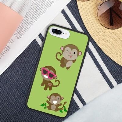Biohajoava iPhone suojakuori - Apinat