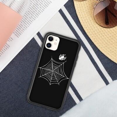 Biohajoava iPhone suojakuori - Hämähäkin verkko