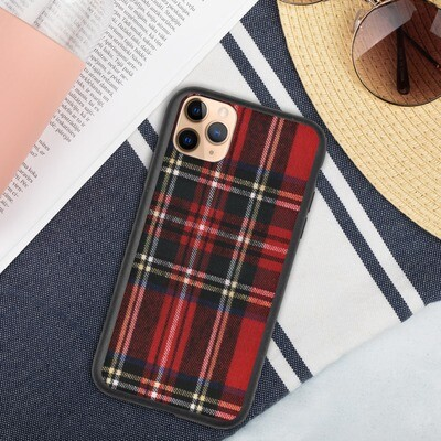 Biohajoava iPhone suojakuori - Skottiruutu