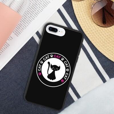 Biohajoava iPhone suojakuori - Kissa