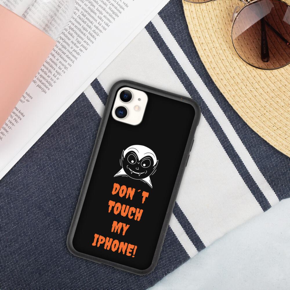 Biohajoava iPhone suojakuori - Don´t touch