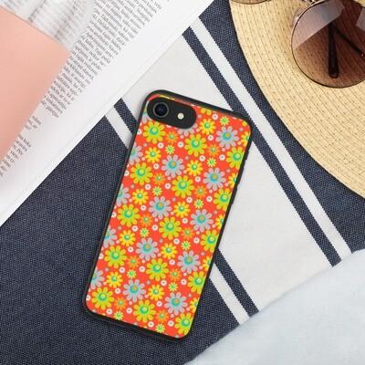 Biohajoava iPhone suojakuori - Retro kuosi