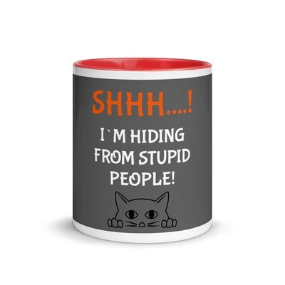 Muki - SHHHH! I´m hiding from stupid people