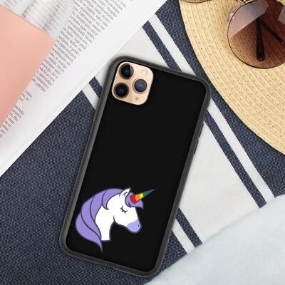 Biohajoava iPhone suojakuori - Yksisarvinen