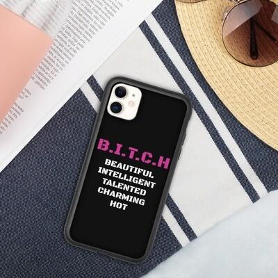 Ympäristöystävällinen iPhone suojakuori - B.I.T.C.H