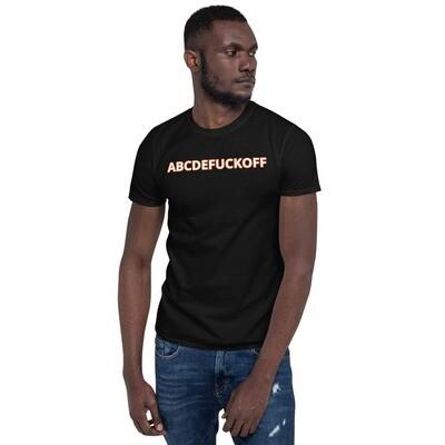 T-paita ABCDEFUCKOFF