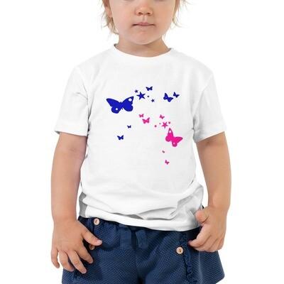 Lasten t-paita - Perhoset