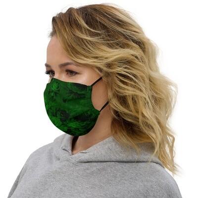 Kangasmaski - Vihreät kukat