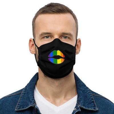 Kasvomaski - Pride-huulet