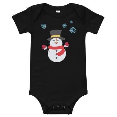 Vauvojen body - lumiukko