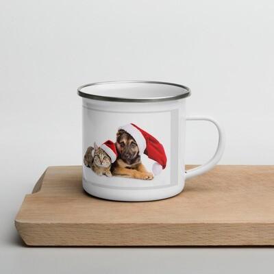 Emalimuki - joulueläimet