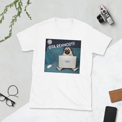 T-paita mopsi - Ota rennosti!