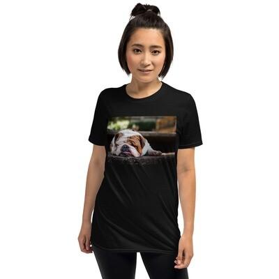 T-paita - Englannin bulldog UNISEX