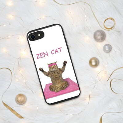 iPhone kännykänkuori - Zen Cat
