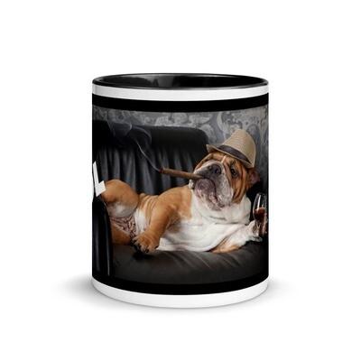 Kahvimuki - Englannin bulldog - Be cool