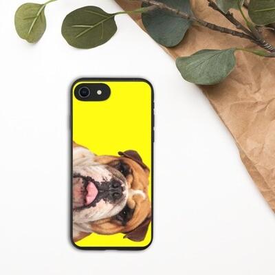 Biohajoava Iphone kuori - Englannin bulldog