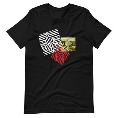T-paita XL-4XL - värikuviot