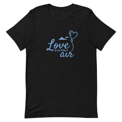 "T-paita musta ""love"" XL-4XL"