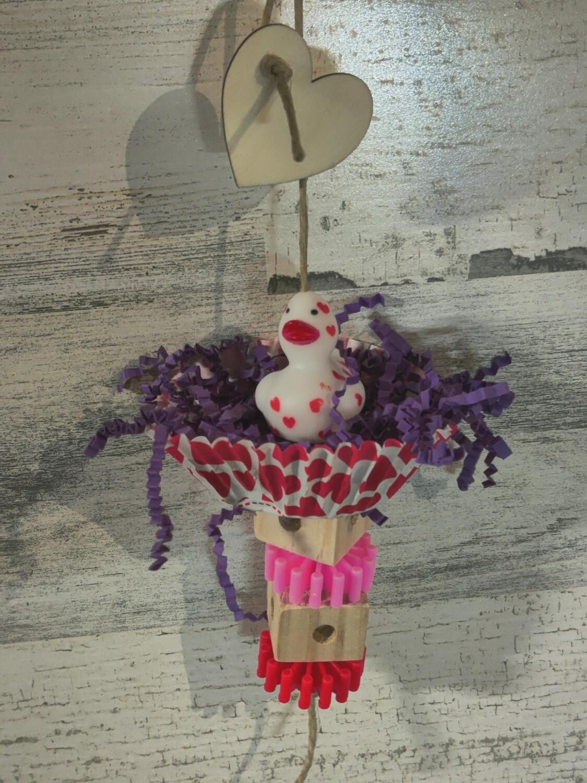 Valentine Ducky Cupcake