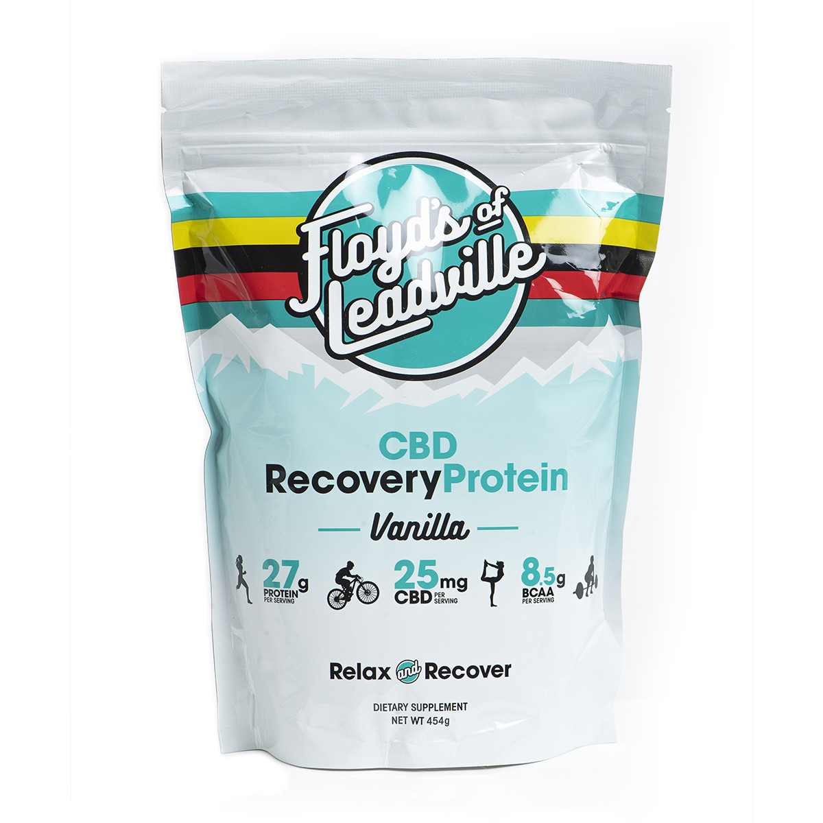 Floyd of Leadville CBD Protein Powder - Vanilla