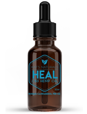 Kat's Naturals CBD Oil - Heal 1500 MG (30ml)