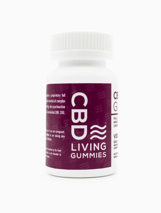 CBD Living Gummy - Vegan 300MG CBD