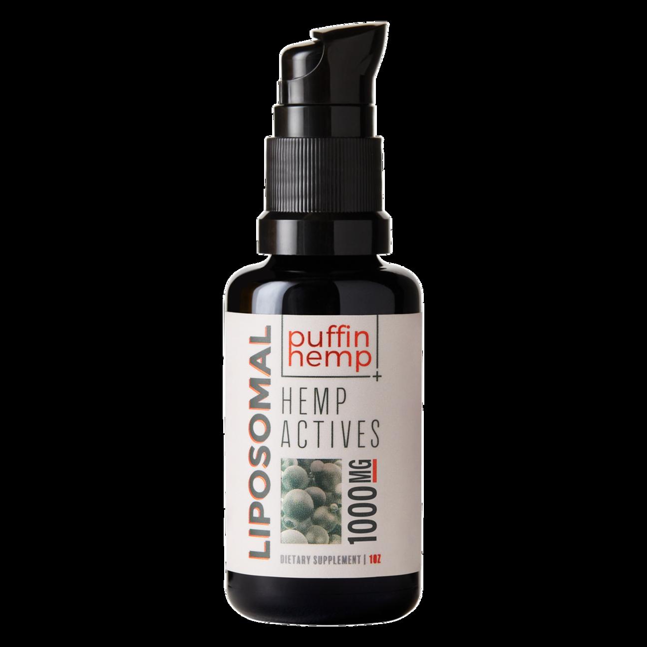 Puffin Hemp Liposomal CBD Oil 1000mg