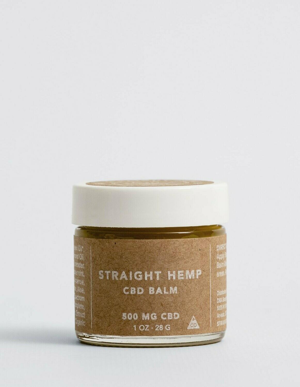 Straight Hemp Full Spectrum CBD Oil Balm 500 MG