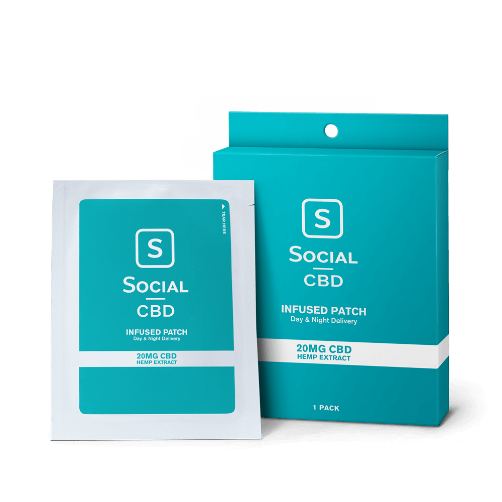 Select CBD Patch for Pain 20MG