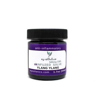MJ Esthetics CBD Pain Salve with Ylang Ylang 500MG CBD