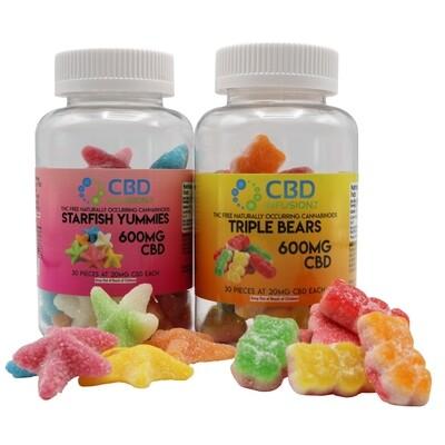 CBD Infusionz - Triple Layer Bears CBD Gummies 100mg