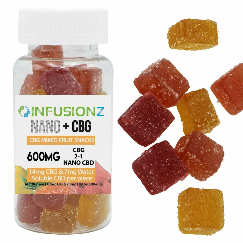 CBG Fruit Snacks 600mg Total Cannabinoids