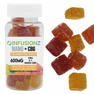 CBG Fruit Snacks 600mg Total Cannabinoids
