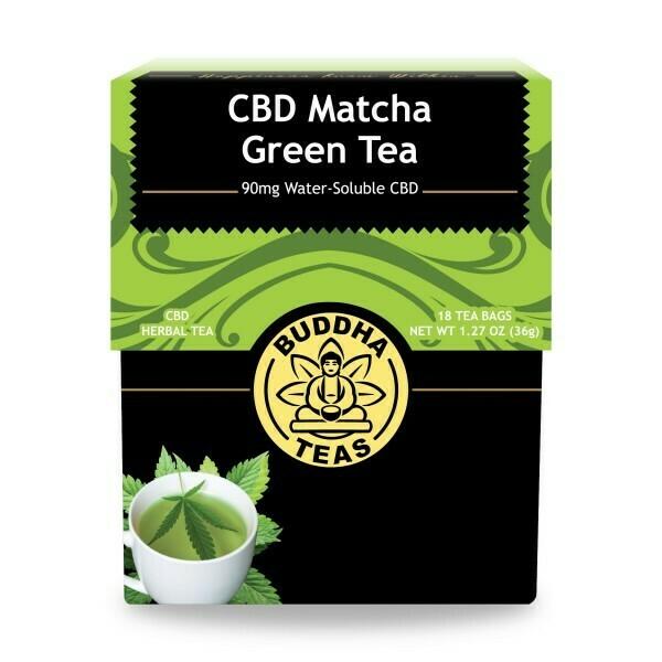 Buddha Tea CBD Matcha