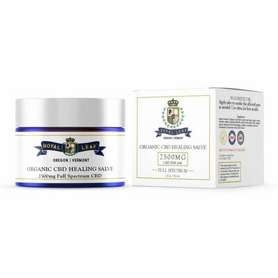 Royal Leaf FullSpectrum CBD Salve 2500mg