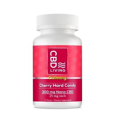 CBD Living Lozenge 100MG CBD -Cherry